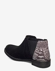 Clarks - Demi Beat - chelsea boots - black comb snake - 2
