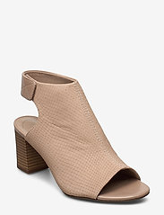 Clarks - Deva Bell - sandales à talons - sand nubuck - 0