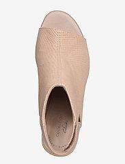 Clarks - Deva Bell - sandales à talons - sand nubuck - 3