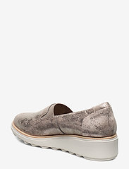 Clarks - Sharon Dolly - slip-on sneakers - pewter - 2
