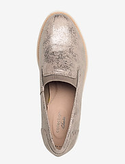 Clarks - Sharon Dolly - slip-on sneakers - pewter - 3