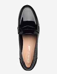 Clarks - Hamble Loafer - loafers - black pat - 3
