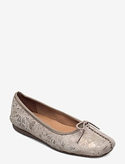 Clarks - Freckle Ice - ballerinas - taupe leather - 0