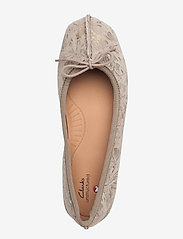 Clarks - Freckle Ice - ballerinas - taupe leather - 3