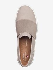 Clarks - Un Maui Step - slip-on sneakers - stone nubuck - 3