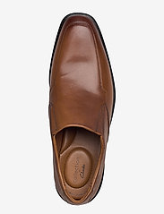 Clarks - Bensley Step - loafers - dark tan lea - 3
