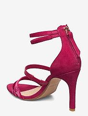 Clarks - Curtain Strap - högklackade sandaler - fuchsia - 2