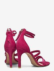 Clarks - Curtain Strap - högklackade sandaler - fuchsia - 4