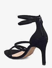 Clarks - Curtain Strap - högklackade sandaler - black sde - 2