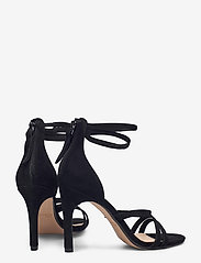 Clarks - Curtain Strap - högklackade sandaler - black sde - 4