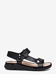 Clarks - Tri Sporty - platta sandaler - black leather - 1