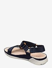 Clarks - Tri Sporty - platta sandaler - navy textile - 2
