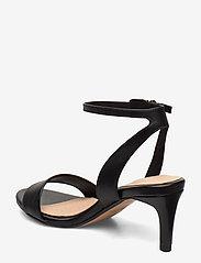 Clarks - Amali Jewel - høyhælte sandaler - black leather - 2