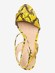 Clarks - Amali Jewel - högklackade sandaler - yellow snake - 3