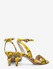 Clarks - Amali Jewel - högklackade sandaler - yellow snake - 4