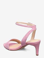 Clarks - Amali Jewel - högklackade sandaler - pink suede - 2