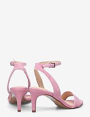 Clarks - Amali Jewel - högklackade sandaler - pink suede - 4