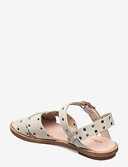 Clarks - Willow Gild - platta sandaler - white - 2
