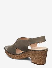Clarks - Maritsa Lara - högklackade sandaler - sage nubuck - 2