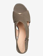 Clarks - Maritsa Lara - högklackade sandaler - sage nubuck - 3