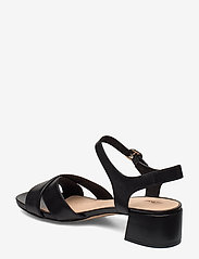 Clarks - Sheer35 Strap - sandales à talons - black leather - 2
