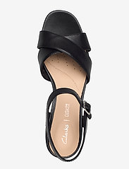 Clarks - Sheer35 Strap - sandales à talons - black leather - 3