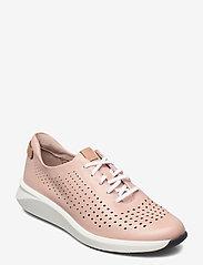 Clarks - Un Rio Tie - låga sneakers - blush leather - 0
