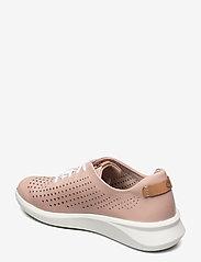 Clarks - Un Rio Tie - låga sneakers - blush leather - 2