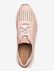 Clarks - Un Rio Tie - låga sneakers - blush leather - 3