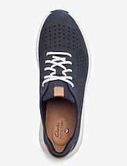 Clarks - Un Rio Tie - låga sneakers - navy nubuck - 3