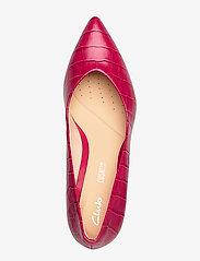 Clarks - Laina55 Court - escarpins classiques - fuchsia - 3