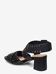 Clarks - Sheer55 Buckle - högklackade sandaler - black leather - 2