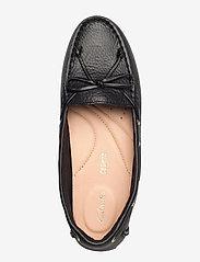 Clarks - C Mocc Boat - loafers - black leather - 3