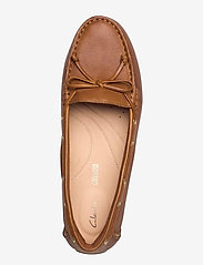 Clarks - C Mocc Boat - loafers - tan leather - 3