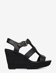 Clarks - Maritsa95 Glad - compensées - black leather - 1