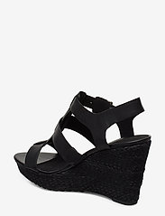 Clarks - Maritsa95 Glad - compensées - black leather - 2