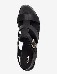 Clarks - Maritsa95 Glad - compensées - black leather - 3