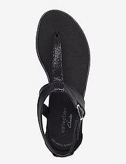 Clarks - Bay Post - platta sandaler - black interest - 3