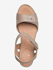 Clarks - Un Palma Vibe - högklackade sandaler - taupe leather - 3