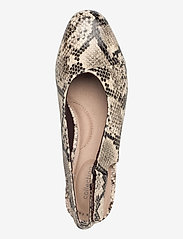 Clarks - Juliet Pull - ballerinas - taupe snake - 3