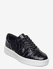 Clarks - Hero Walk. - lage sneakers - black croc - 0