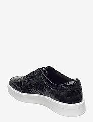 Clarks - Hero Walk. - lage sneakers - black croc - 2
