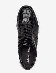 Clarks - Hero Walk. - lage sneakers - black croc - 3