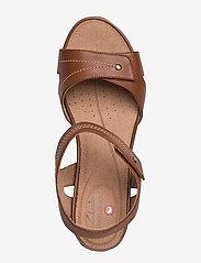 Clarks - Un Palma Vibe - sandales à talons - mahogany leather - 3