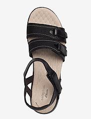 Clarks - Alexis Shine - platta sandaler - black - 3