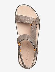 Clarks - Tri Sporty - platta sandaler - sage snake - 3