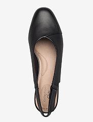 Clarks - Juliet Pull - ballerinas - black leather - 3