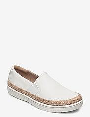 Clarks - Marie Sail - slip-on sneakers - white - 0