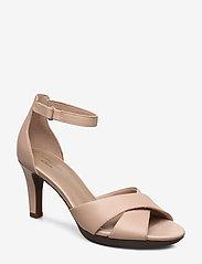 Clarks - Adriel Cove - högklackade sandaler - blush leather - 0