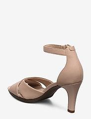 Clarks - Adriel Cove - högklackade sandaler - blush leather - 2